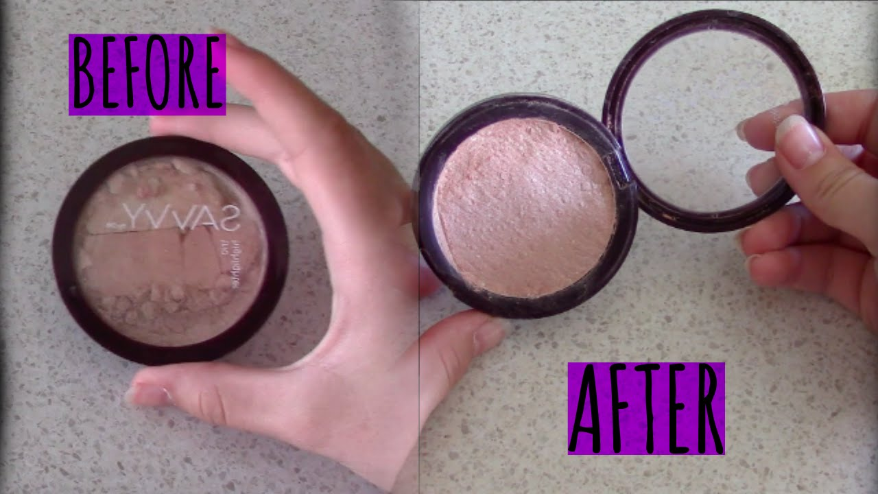 How to fix broken powder makeup with alcohol in four simple steps - How To Fix Broken Powder Makeup With Alcohol In Four Simple Steps 35