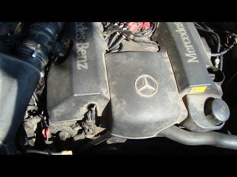 Как снять или заменить поликлиновой ремень + схемы обвода вокруг шкивов Mercedes W210