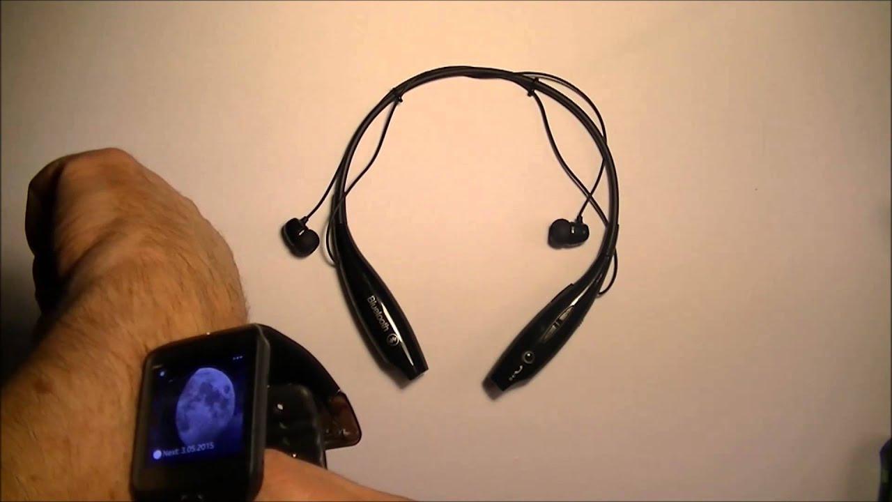 Bluetooth headphones neckband - headphones sport neckband