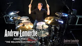 "Judas Priest ""The Hellion/Electric Eye"" Drum Cover - Andrew Lamarche"