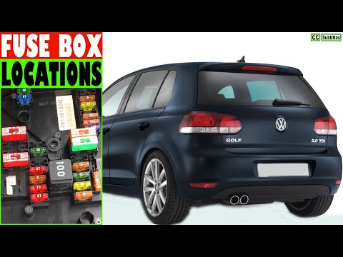 VW Golf Fuse Box Location and how to check fuses on VW Golf