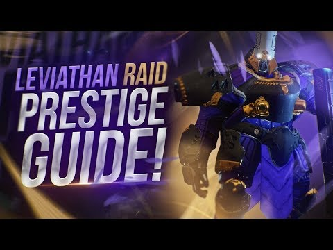 Destiny 2: Full Leviathan Raid Prestige Guide | All Encounter Mechanics!