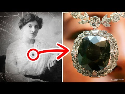 Tajemniczy czarny diament, który sprowadził nieszczęścia na swoich właścicieli