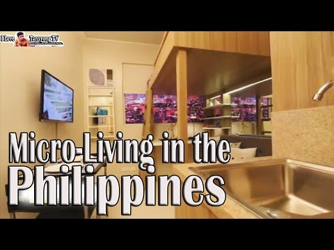 Micro-Living in the Urban Zone of the Philippines - Manila.