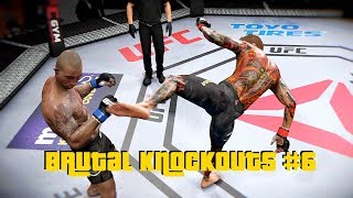 Zapętlaj EA Sports UFC 3 - Best Knockouts Compilation #6 | Fusion Gaming