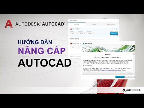 Hướng dẫn nâng cấp AutoCAD lên phiên bản mới AutoCAD 2021   How to upgrade AutoCAD to 2021 version