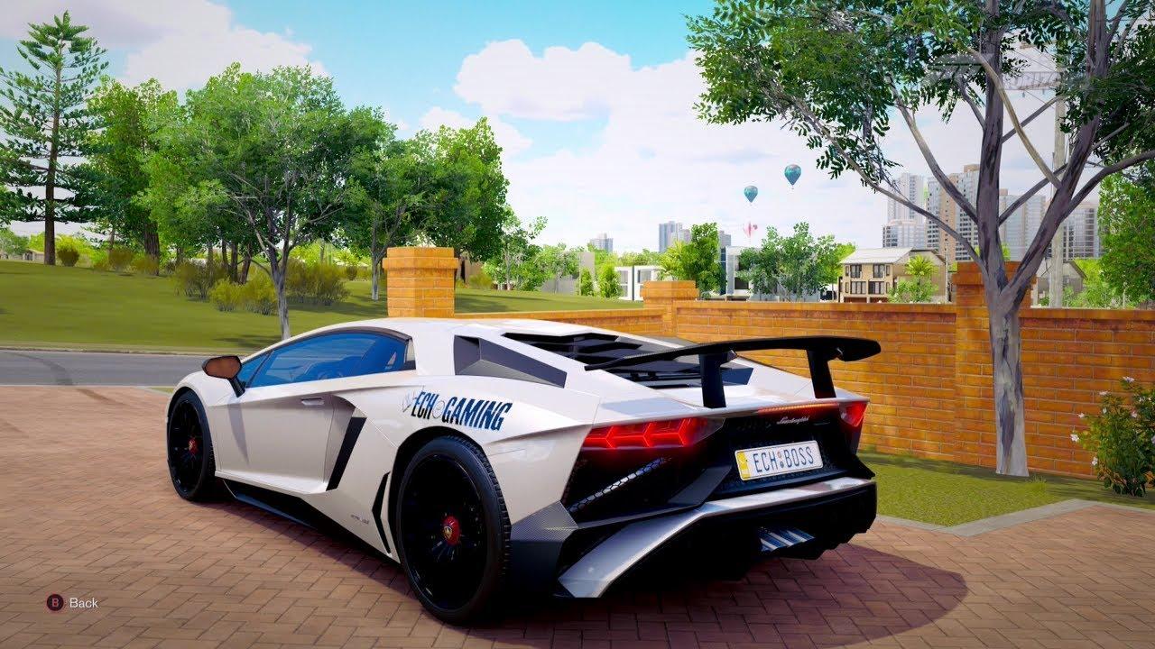 Forza Horizon 3 740hp 2016 Lamborghini Aventador Lp750 4 Sv Youtube