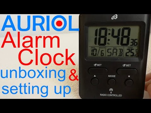 Setting Up Auriol Rc Clock From Lidl Doovi