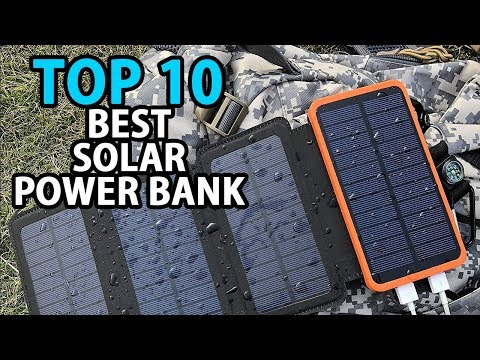 Top 10 Best Solar Charger | Solar Power Bank | My Deal Buddy