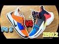 Nike PG 3 Vs Jordan WHY NOT ZERO.2!