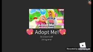 Roblox Adoptez-moi ( Maison d'édition! Première fois rec
