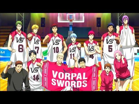 Kuroko No Basket,Vorpal Swords Vs Jabberwock Plays Scene Moves & Players Comparisons