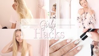 Girly Hacks EVERY Girl Should Know! | Freddy My Love