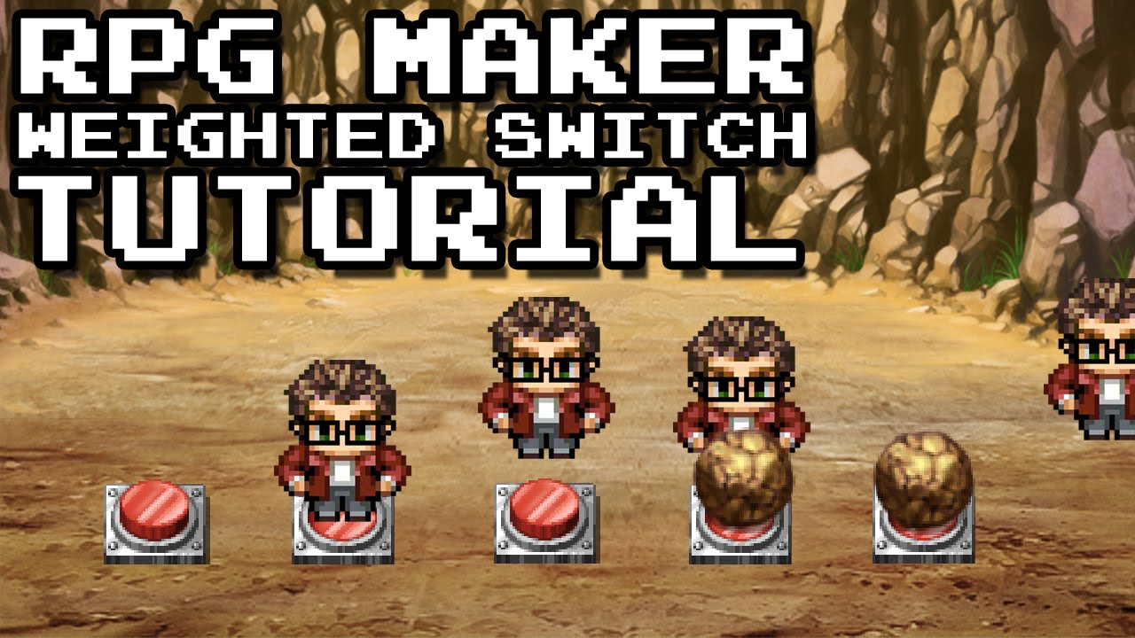 RPG Maker MV and ACE: Weighted Switch Puzzle Tutorial