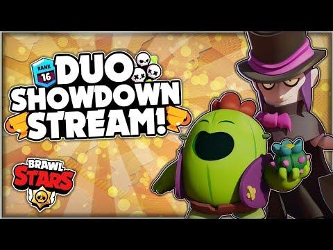 DUO SHOWDOWN LIVE STREAM! - Playing In Global Brawl Stars With Viewers! - Brawl Stars