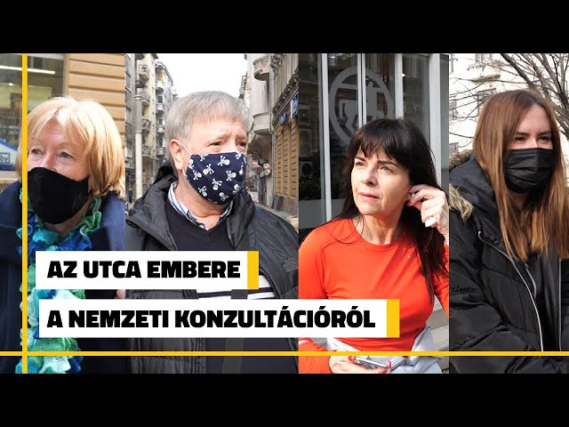 Az utca embere a nemzeti konultációról | Jövő TV