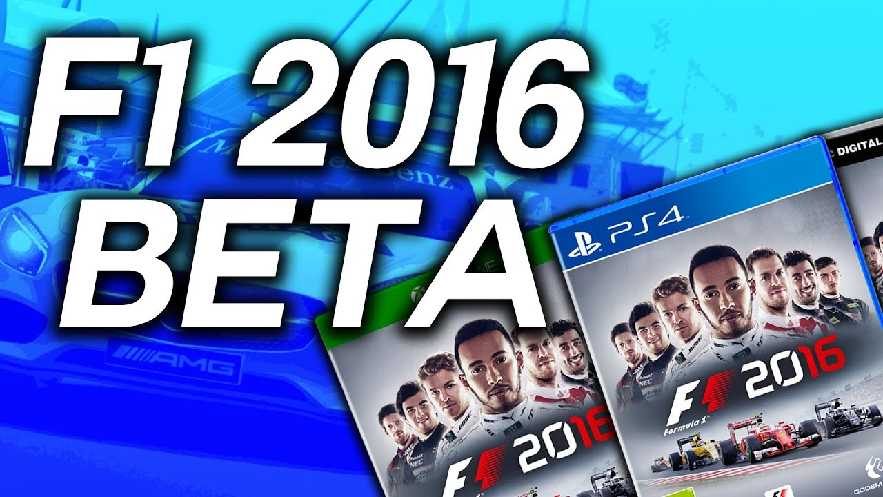 how to play f1 2016 early closed beta xbox one ps4 pc youtube. Black Bedroom Furniture Sets. Home Design Ideas