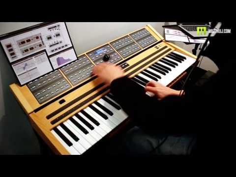 Nagrania dla muzykuj.com – Nonlinear Labs C15  – musikmesse 2017 gra: Kamil Barański www.muzykuj.com