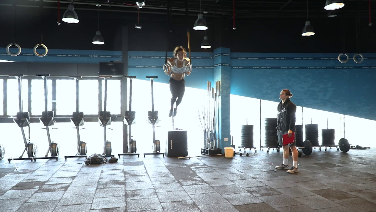 Download Jamie Greene Highlights From CrossFit Open Workout 18.3
