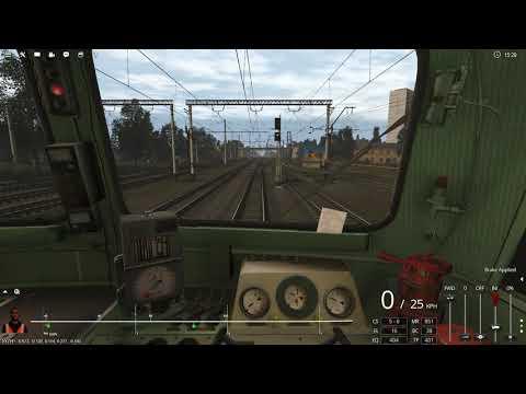 Trainz 2019, Карта Андрушевка - Виница, Сценарий - Поезд №4378 Фастов-Мосты