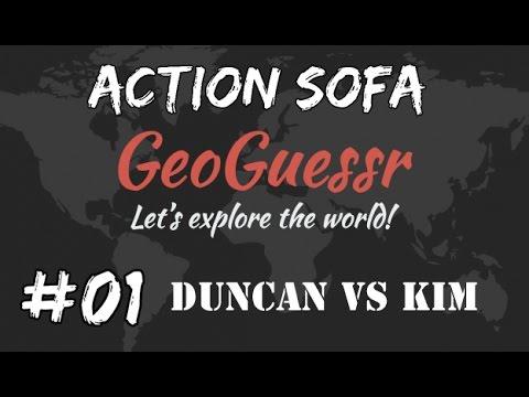 GeoGuessr - Duncan vs  Kim - Part 1