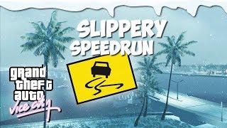 GTA Vice City - Slippery Winter Mod Speedrun