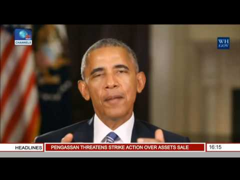 Network Africa: Obama Commisions African American Museum In Washington DC