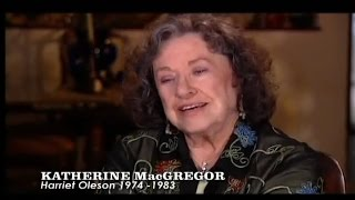 Katherine MacGregor Little House interview Pt. 1