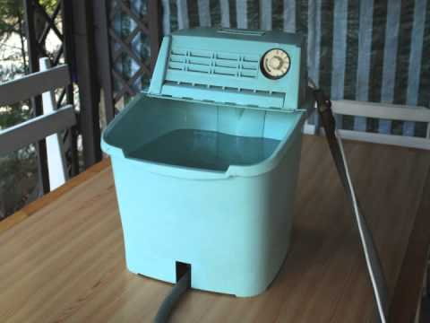 Calor mini washer relaxing sound youtube - Mini machine a laver essoreuse ...
