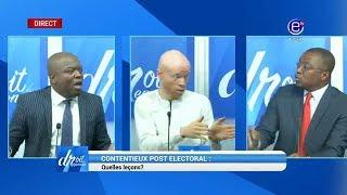 DROIT DE RÉPONSE (CONTENTIEUX POST ÉLECTORAL : QUELLES LEÇONS? )  EQUINOXE TV