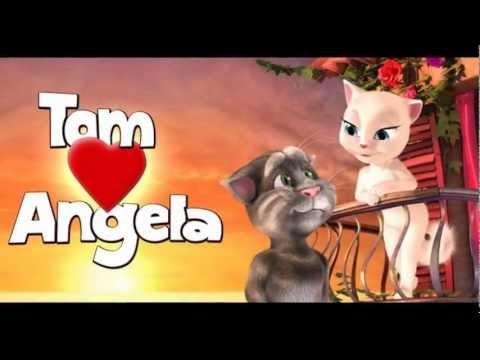Игра говорящая кошка Анжела, Talking Angela