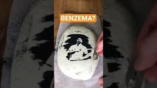 Рисунок на Хлебе Benzema Рецепт хлеба в основных видео shorts