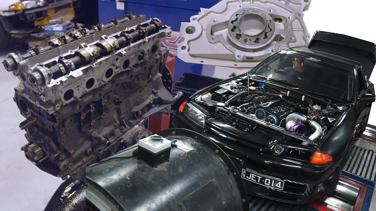 1000 engine HP GT-R Budget Build RB26 Pt1 - The truth on RB oil pumps, head  gaskets and more