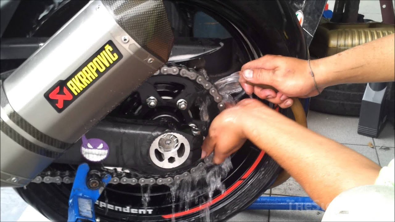 Best Motorcycle O Ring Chain Lube