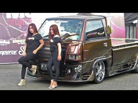 Thumbnail: Pick Up Kinclong, yang Ngedeketin Juga yg Kinclong2 (Kontes Modifikasi Mobil pick up indonesia )