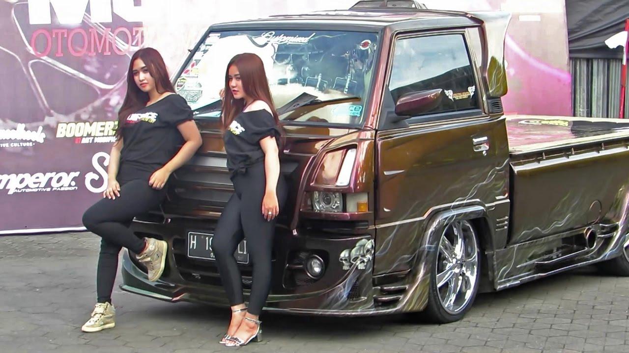 Pick Up Kinclong Yang Ngedeketin Juga Yg Kinclong Kontes Modifikasi Mobil Pick Up Indonesia