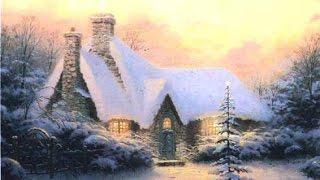 Top 20 old Traditional Christmas Carols & Songs playlist - Festive Art by THOMAS KINKADE YouTube Videos