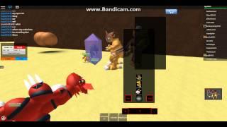 Roblox Digimon Masters Spaß!