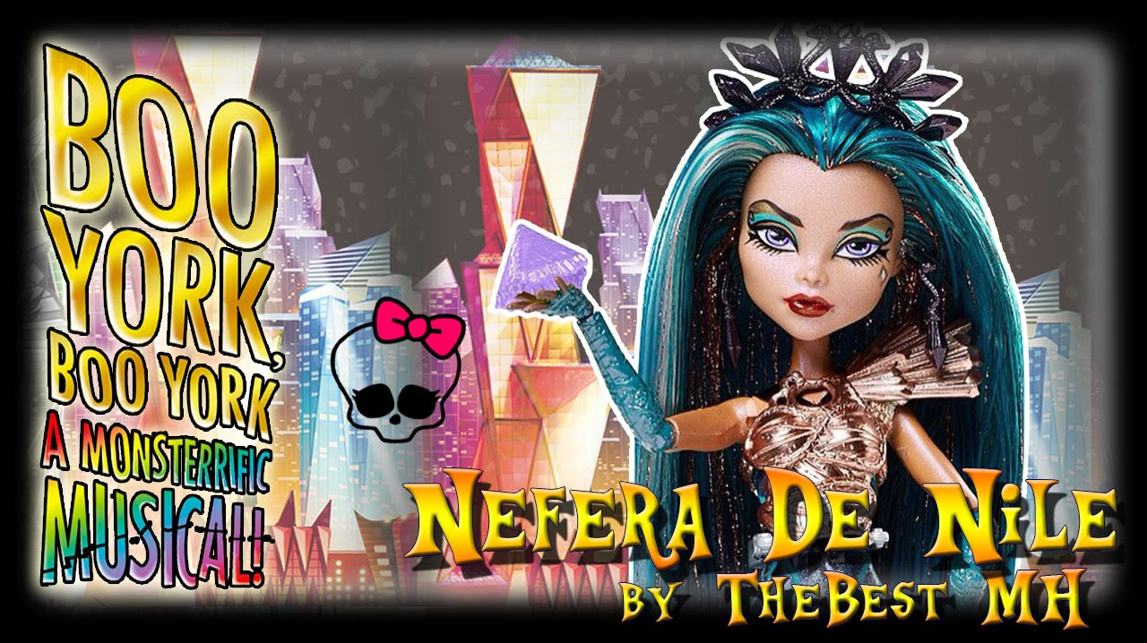 "Нефера Де Нил ""Бу-Йорк Бу-Йорк"" - обзор / Nefera de Nile ""Boo York"" - doll review"