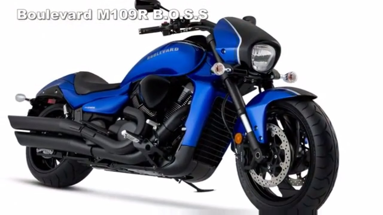 2017 Suzuki Boulevard M109R BOSS Is Really Perfect - YouTube