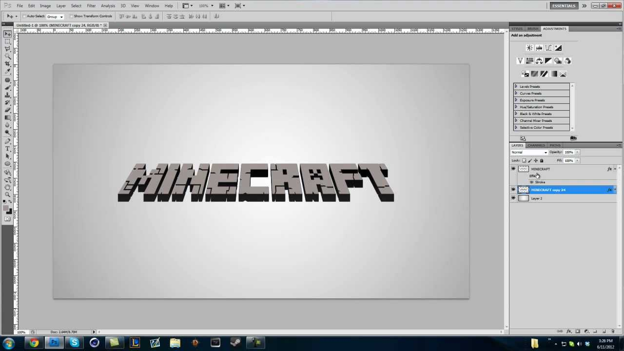 Minecraft How To Make Letters
