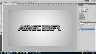 Download How to make a Minecraft 3D Text in Photoshop Mp3 and Videos