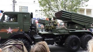 Парад Победы в Симферополе. 9 мая 2017.