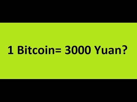 Bitcoin to 3000 Yuan? Investors should always know the price in China