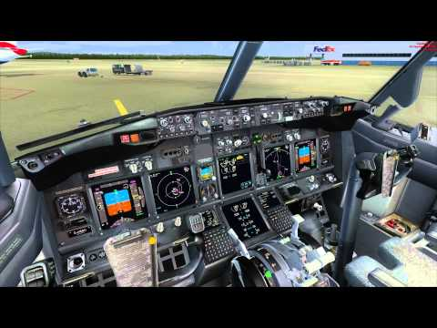 TUIfly virtual / TUI168W EDDM-GCTS / PMDG 737-800 / Pro-ATC/X