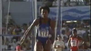 Fiona May - Goteborg'95 (gran salto ma...nullo)