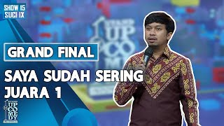 Stand Up Ali Akbar: Saya Sudah Sering Juara 1 - GRAND FINAL SUCI IX