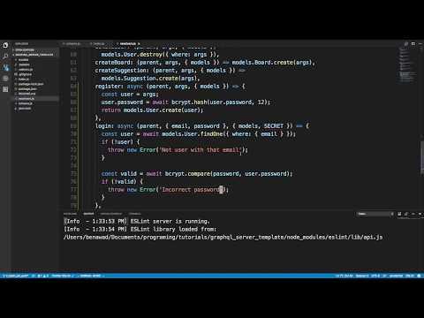 GraphQL Authentication with Node.js