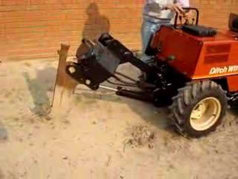 ditch witch 255sx 255 vibratory plow cable plow youtube. Black Bedroom Furniture Sets. Home Design Ideas