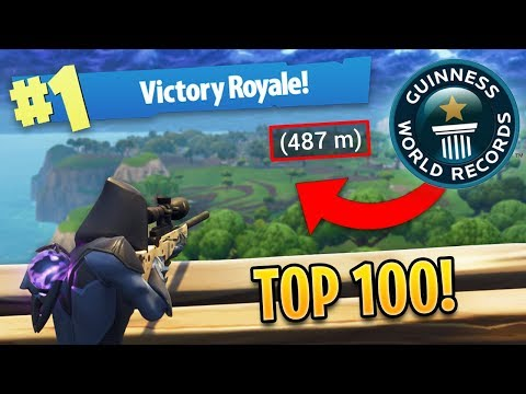 TOP 100 BEST FORTNITE SNIPER SHOTS OF ALL TIME